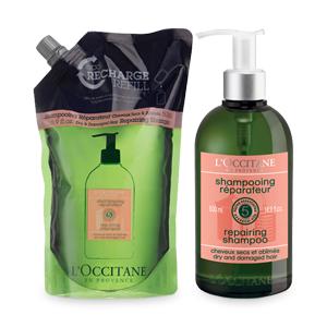 Duo Repair Shampoo und Nachfüllpackung