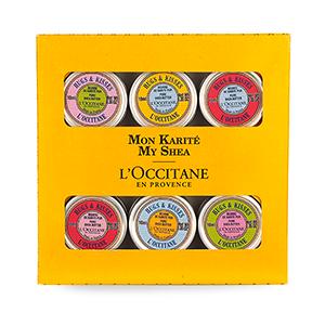 Geschenkbox mit 6 personalisierten Dosen Karitébutter