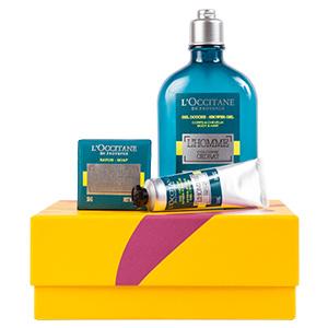 Gesichts- und Körperpflege-Geschenkbox L'Homme Cologne Cédrat