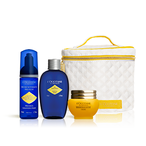 Immortelle Divine Anti-Aging-Gesichtspflege-Set - L'OCCITANE
