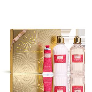 Körperpflege-Geschenkbox Rosen und Königinnen