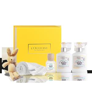 Karité Baby Pflege-Geschenkbox mit Kuscheltier L'OCCITANE