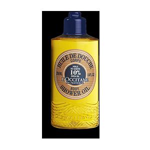 Verwöhnen Sie sich mit der sinnlichen Textur dieses Duschöls mit Shea-Öl. Es reinigt sanft, schützt und pflegt intensiv.