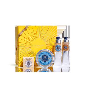 Körperpflege-Geschenkbox Karité