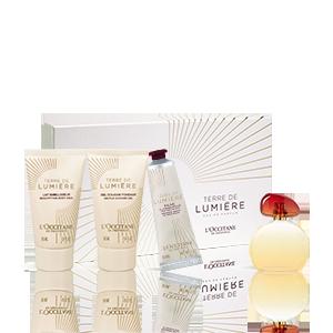 Körperpflege-Geschenkbox Terre de Lumière
