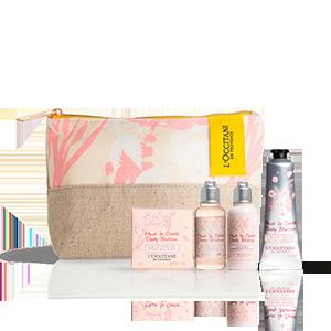 Körperpflege-Täschchen Kirschblüte L'OCCITANE