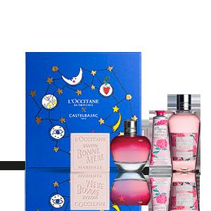 Parfum-Weihnachtsbox Pfingstrose L'OCCITANE