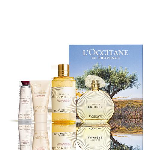 Eau de Parfum-Geschenkbox Terre de Lumière Gold-Edition
