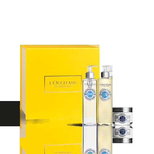 Gesichtspflege-Geschenkbox Karité