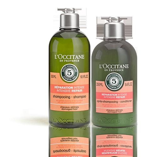 Duo Intensiv-Repair Shampoo und Haarspülung