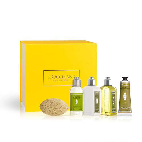Körper- & Handpflege-Geschenkbox Verbene