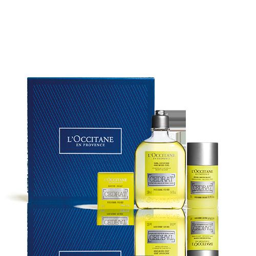 Körperpflege-Geschenkbox Cédrat