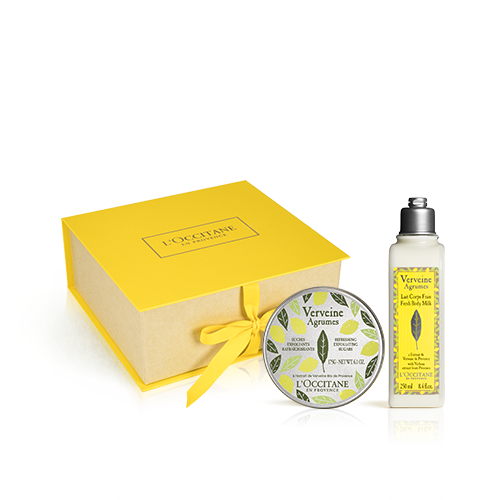 Körperpflege-Geschenkbox Sommer-Verbene