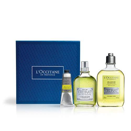 Parfum-Geschenkbox Cédrat