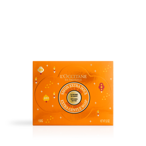 Sheabutter Extra-sanfte Seife limitierte Edition Honigernte 150g