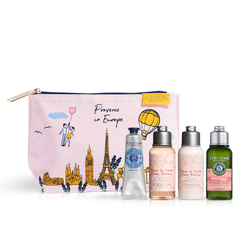 """Täschchen mit Beauty-Must-haves """"Provence in Europe"""""""