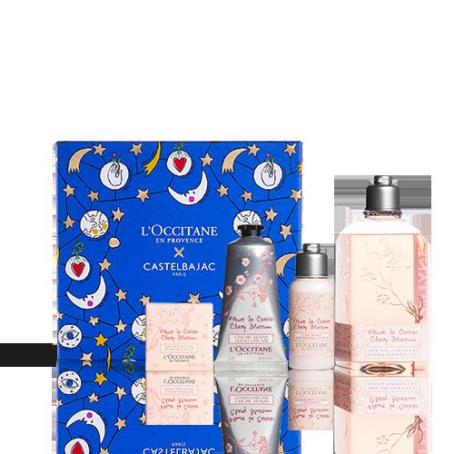 Weihnachtsbox Körperpflege Kirschblüte
