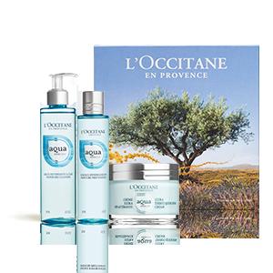 Aqua Réotier Geschenkbox mitGesichtscreme - L'OCCITANE