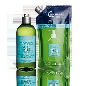 Duo Aromachologie Revitalisierende Frische Shampoo
