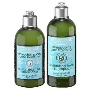 Duo Shampoo und Haarspülung Revitalisierende Frische