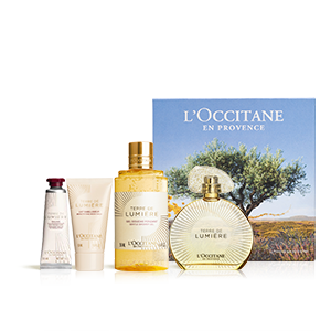 Eau de Parfum Geschenkset Terre de Lumière Gold-Edition 90ml L'OCCITANE
