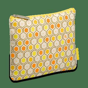 Gelbes Karité Honig Täschchen