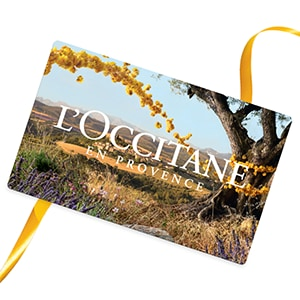Geschenk Gutschein L'Occitane 50€