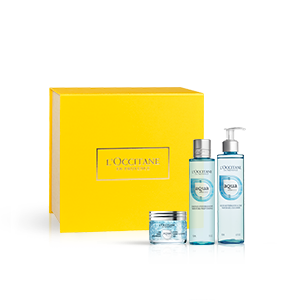 Gesichtspflege-Geschenkbox Aqua Réotier L'OCCITANE