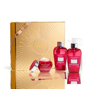 Gesichtspflege-Geschenkbox Pfingstrose