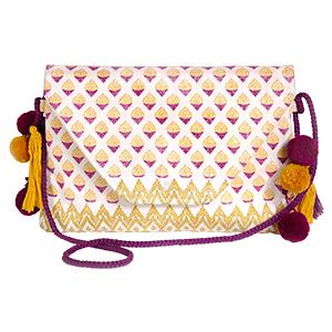 Handtasche Antik Batik für L'Occitane