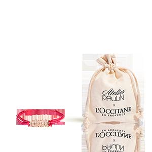 "Ihr Armband ""aime"" L'Occitane X Atelier Paulin"