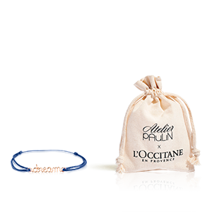 "Ihr Armband ""dream"" L'Occitane X Atelier Paulin"