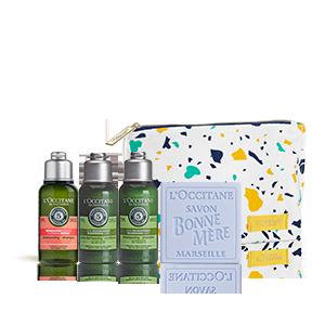 Ihr Wohlfühl-Täschchen und Ihre Aromachologie Must-haves geschenkt!
