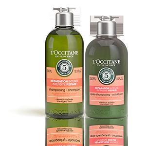 Intensiv-Repair Shampoo und Haarspülung L'OCCITANE