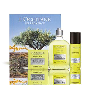 Körperpflege-Geschenkbox Cédrat - Männer - L'OCCITANE