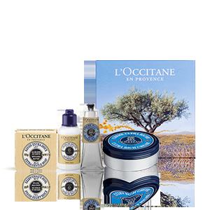 Entdecken Sie die L'OCCITANE Karité Körperpflege-Geschenkbox und erleben Sie die außergewöhnliche pflegende Wirkung der Sheabutter.