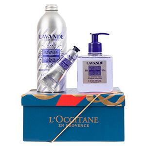 Körperpflege-Geschenkbox Lavendel