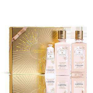 Körperpflege-Geschenkbox Neroli & Orchidee