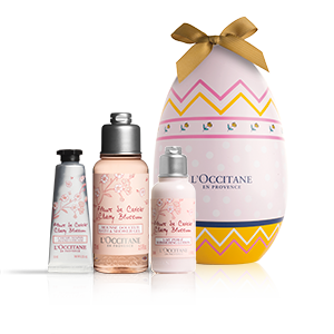 Kirschblüte Osterei - blumige Körperpflege L'OCCITANE