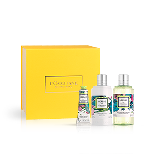 Körperpflege-Geschenkbox Herbae L'OCCITANE