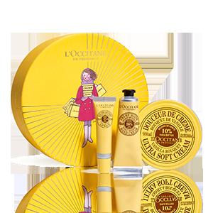 Körperpflege-Geschenkbox Karité Vanille