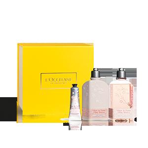 Körperpflege-Geschenkbox Kirschblüte L'OCCITANE