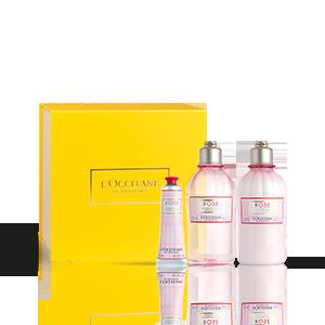 Körperpflege-Geschenkbox Rose L'OCCITANE