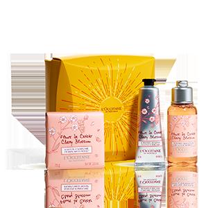 Mini-Geschenkbox Zarte Kirschblüte