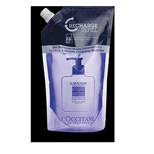 Öko-Nachfüllpackung Lavendel Handwaschgel