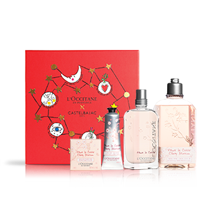 Parfum-Weihnachtsbox Kirschblüte L'OCCITANE