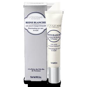 Reine Blanche Teintaufhellende Augenpflege und Maske