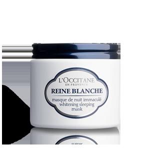 Reine Blanche Teintaufhellende Nacht-Gesichtsmaske