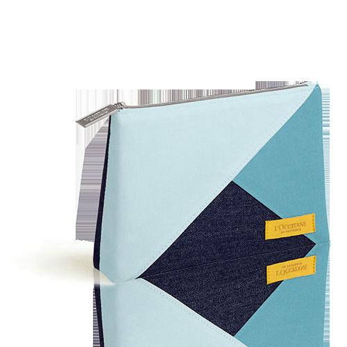 Blaues Sommer-Täschchen