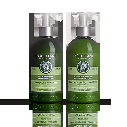 Duo Aromachologie Intensive Pflege Shampoo und Haarspülung